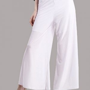 WHITE PALAZZO TROUSERS-0