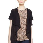 BROWN AND BLACK ANIMAL PRINT TOP-3860