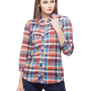 Peptrends Multicoloured Check Shirt-0