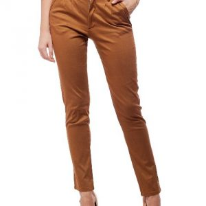 Peptrends Brown Pleated Trouser-0