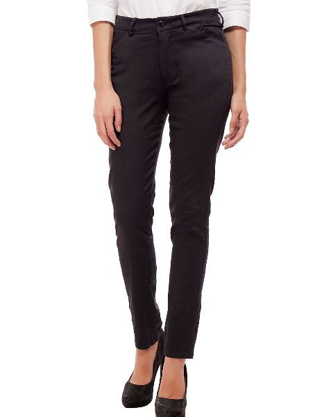 Peptrends Slim Fit formal trousers-0