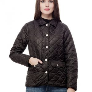 Peptrends Quilted Black Jacket-0