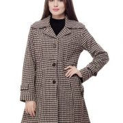 Peptrends Black and White Coat-4273