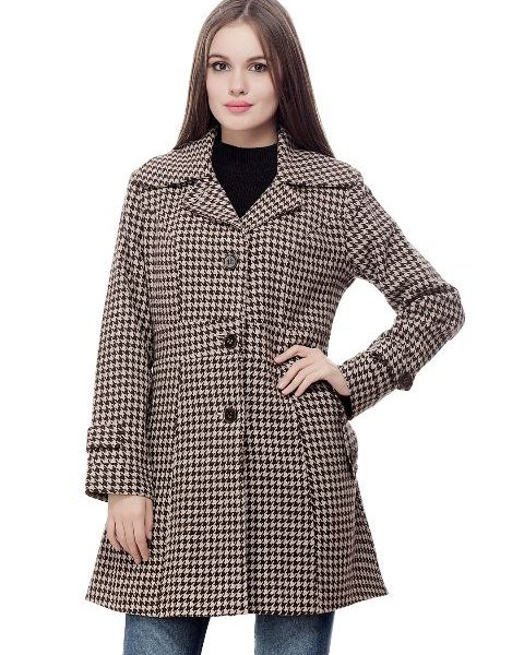 Peptrends Black and White Coat-0