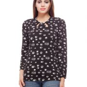 Peptrends Black Cut Out Top-3322