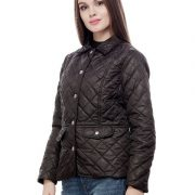 Peptrends Quilted Black Jacket-4296