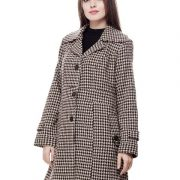 Peptrends Black and White Coat-4274