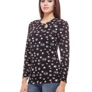Peptrends Black Cut Out Top-3323