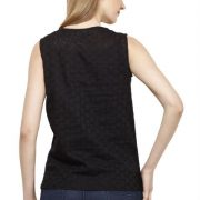 BLACK COTTON TOP-3654