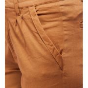 Peptrends Brown Pleated Trouser-4170
