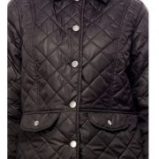 Peptrends Quilted Black Jacket-4298