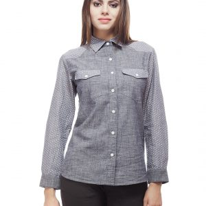 Peptrends Geometric Print Shirt-0